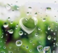 17 October 2012 raining heart
