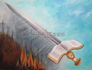 17 August 2011 Prophetic Art Nathalie Kelley Sword of the Spirit cr