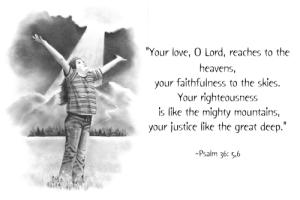 4 January 2013 Psalm-36-5-ss