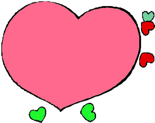 drawings-of-hearts-pink-love-heart-small-hearts